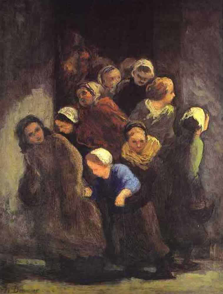 HONORE DAUMIER - DR7012