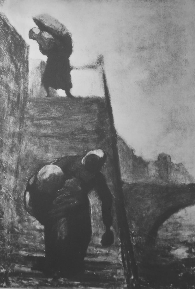 HONORE DAUMIER - DR7040
