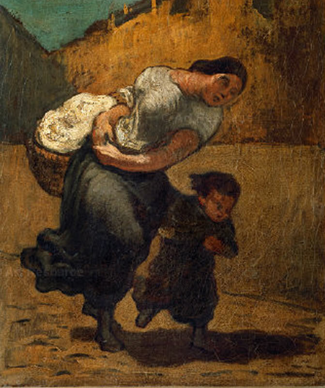 HONORE DAUMIER - DR7043