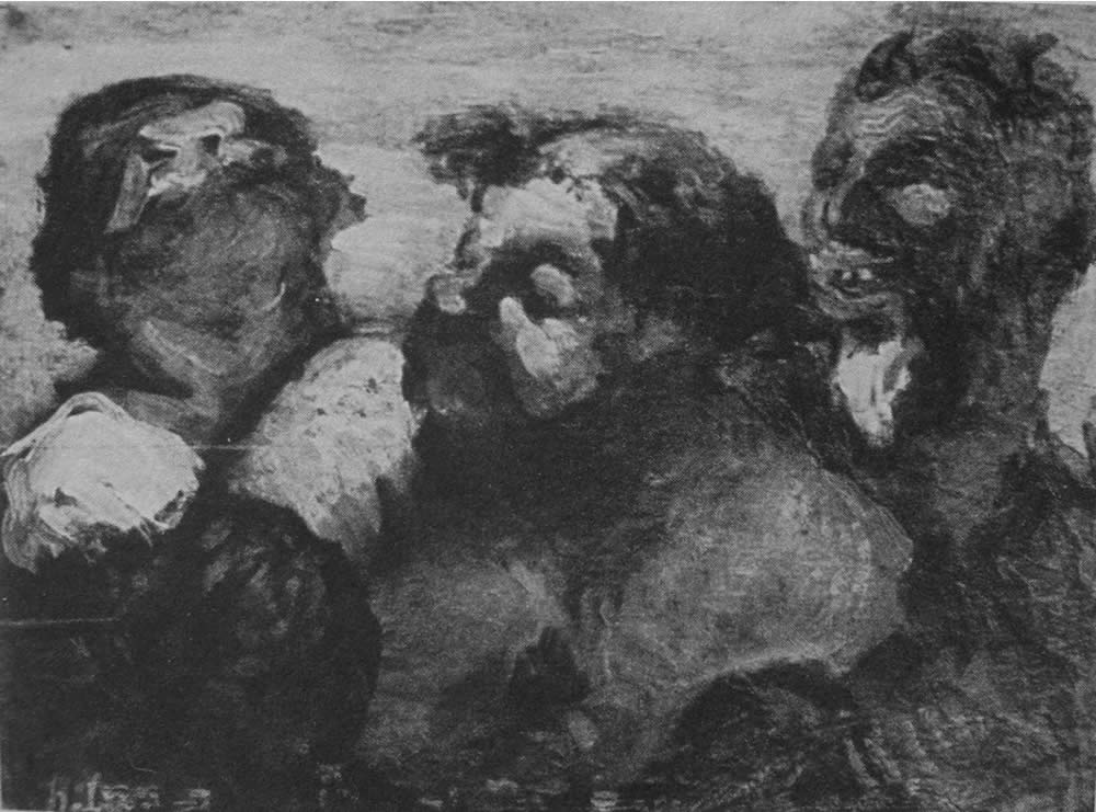 HONORE DAUMIER - DR7059