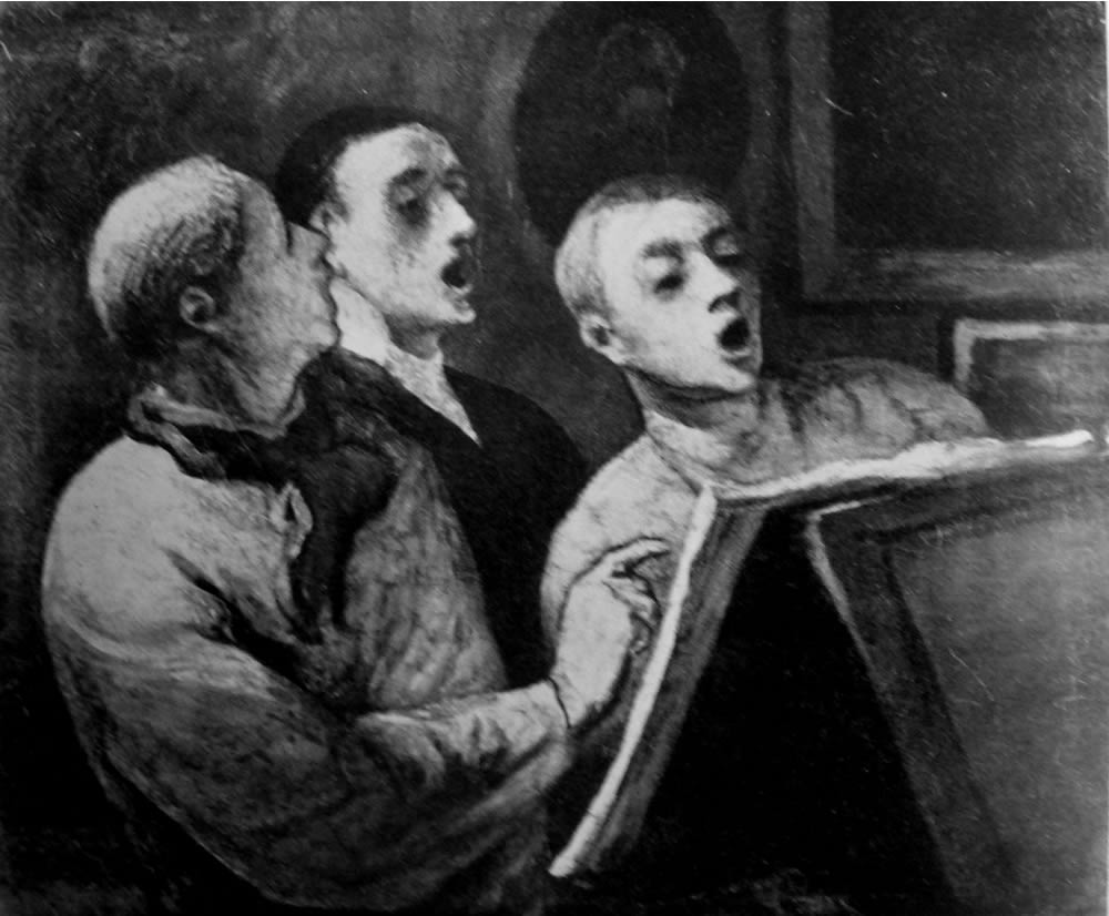 HONORE DAUMIER - DR8032