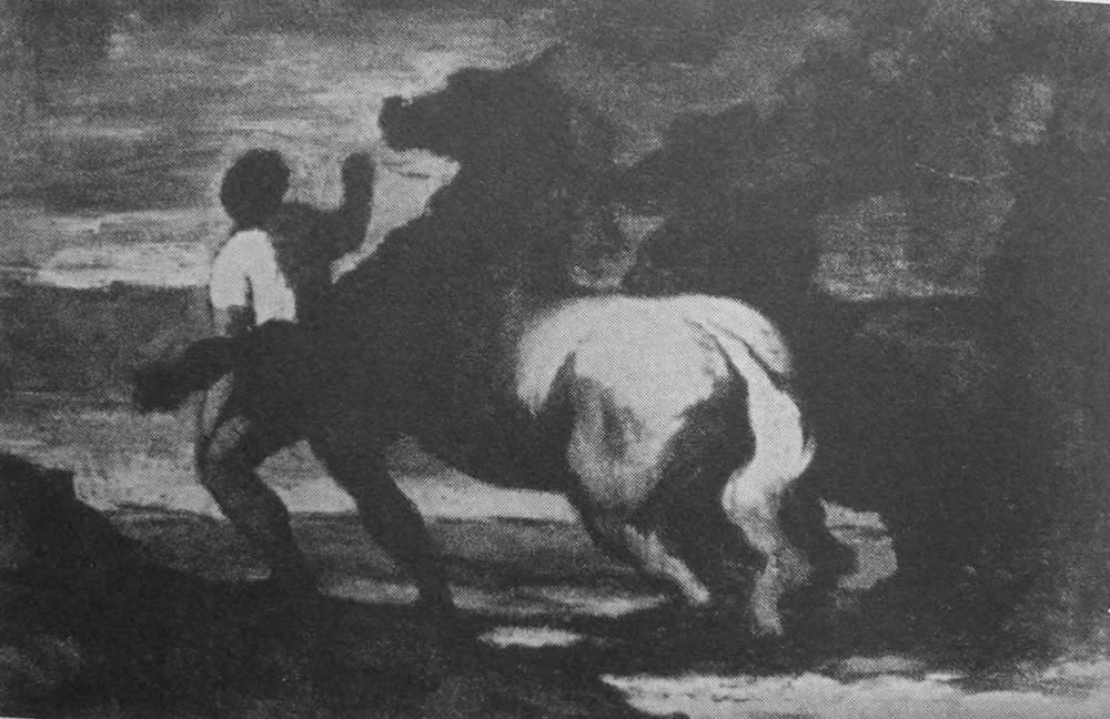 HONORE DAUMIER - DR8033
