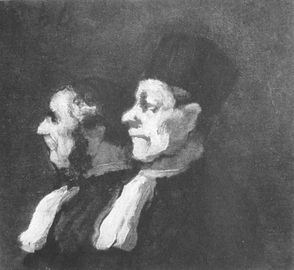 HONORE DAUMIER - DR8039