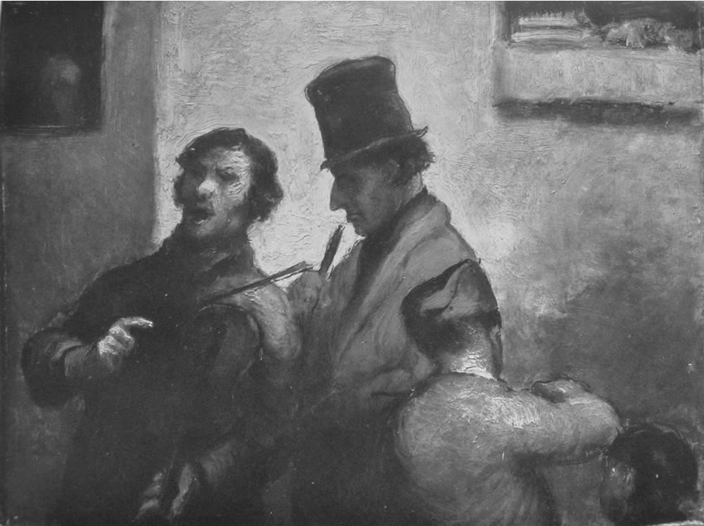 HONORE DAUMIER - DR9001