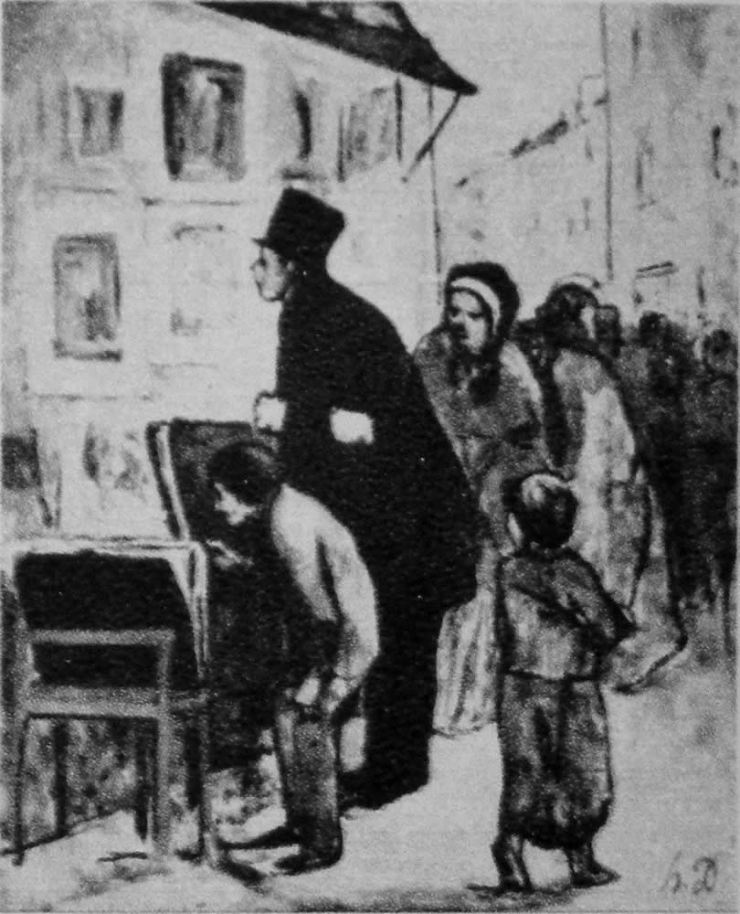HONORE DAUMIER - DR9025