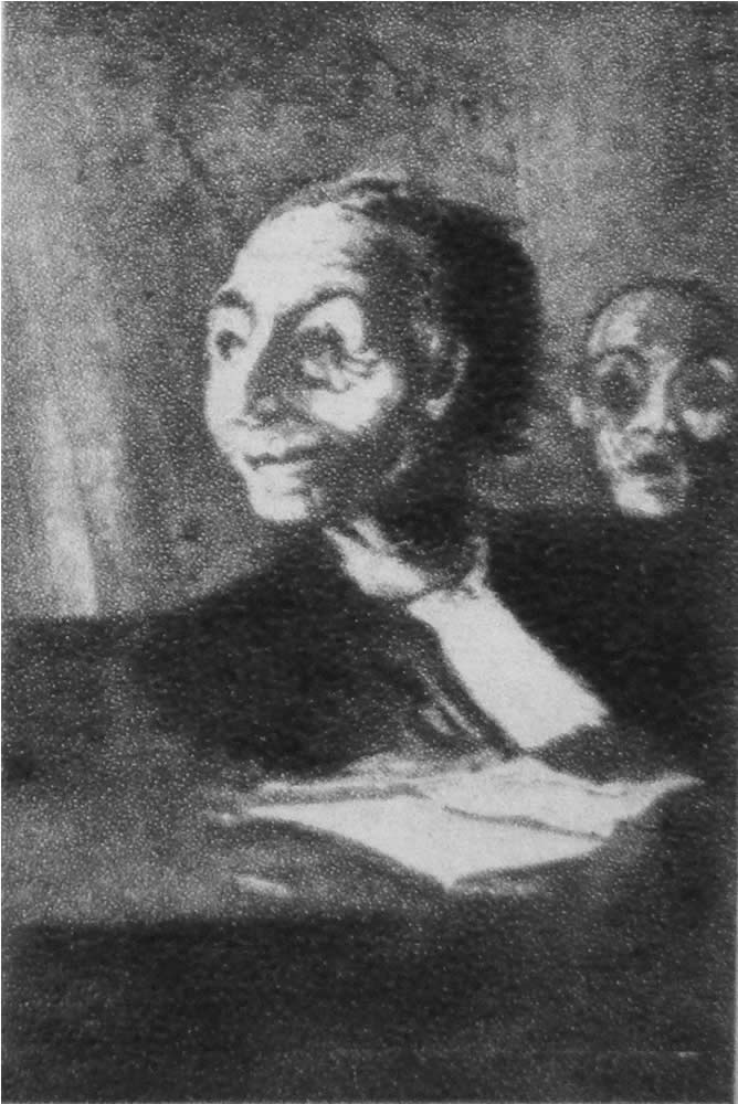 HONORE DAUMIER - DR9027