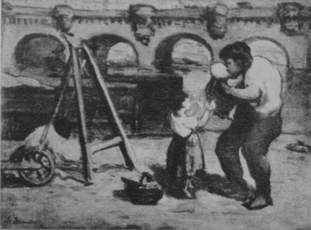 HONORE DAUMIER - DR9055