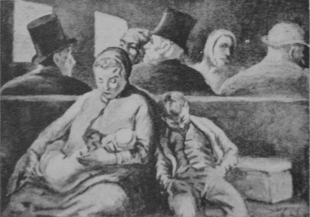 HONORE DAUMIER - DR9062