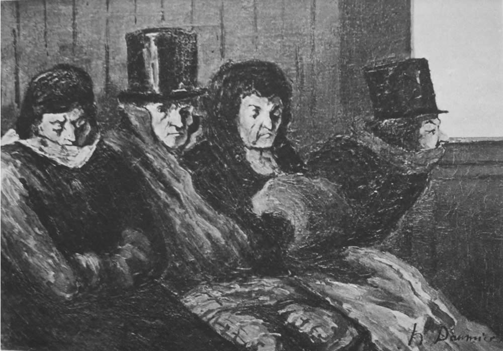 HONORE DAUMIER - DR9063