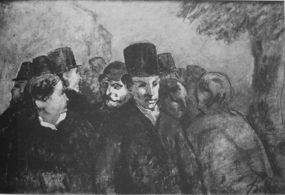 HONORE DAUMIER - DR9120